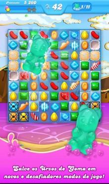 Candy Crush Soda Saga Novo Jogo Da King Já Está Disponível Para Android Tudocelular Com