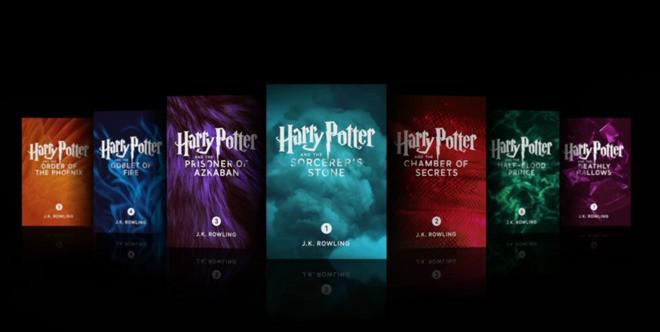 apple lanca edicoes da serie de livros harry potter com novas capas artes e animacoes interativas tudocelular com livros harry potter