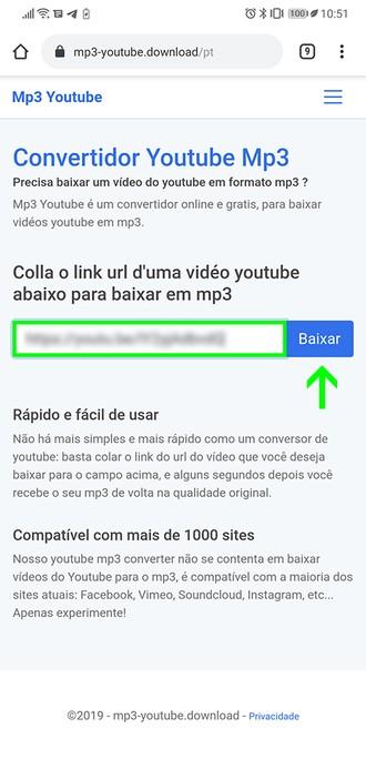 TudoCelular Ensina: como baixar o áudio de vídeos do YouTube sem instalar  apps ou programas - TudoCelular.com