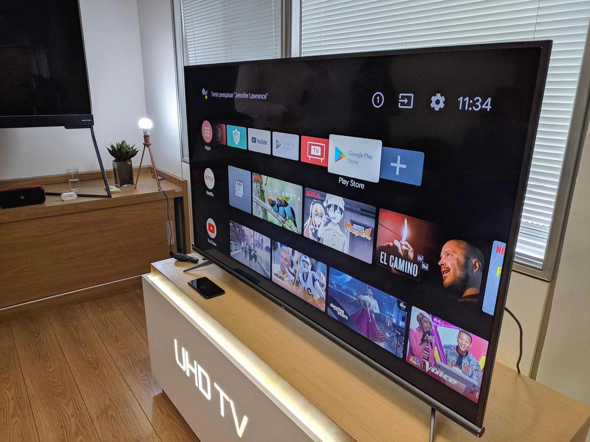 TV TCL P8M: bugs atrapalham a boa experiência Android em tela grande |  Análise / Review - TudoCelular.com