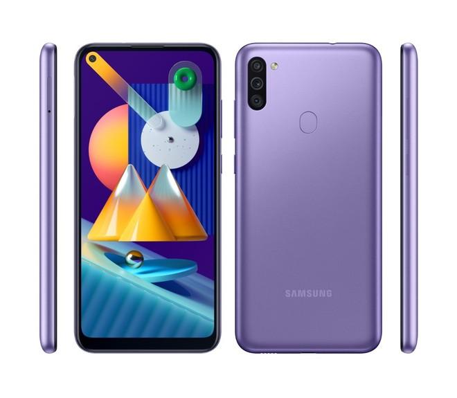 Galaxy M11 aparece com três opções de cores e especificações completas em  novo vazamento - TudoCelular.com