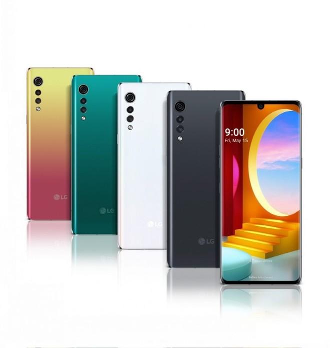 Comparativo em tamanho real: LG Velvet contra Motorola Edge e ...