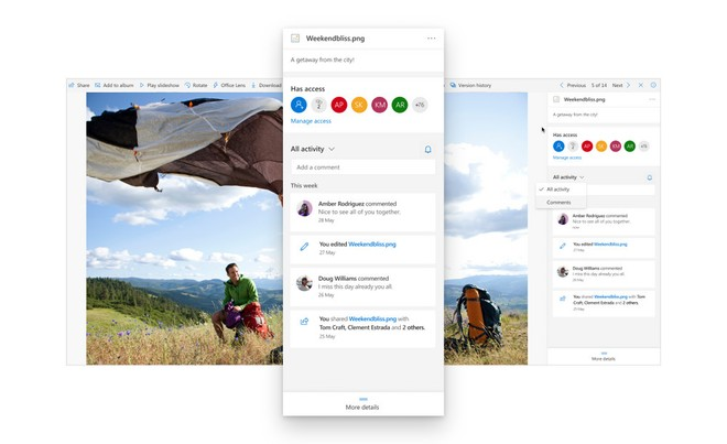 Microsoft facilitates collaborations on OneDrive with the addition of new functions on ...