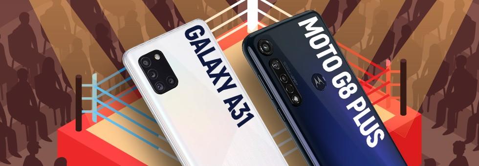 Galaxy A31 vs Moto G8 Plus: Samsung intermediate outperforms Motorola's rival? |...