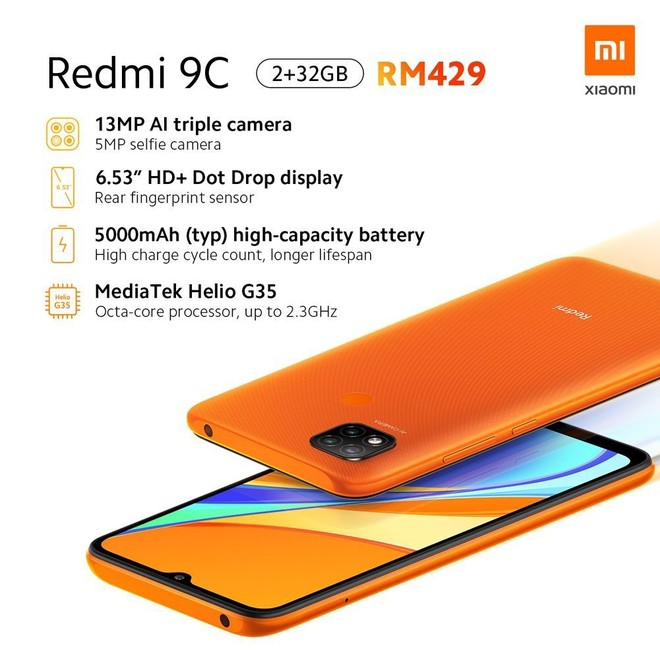 Xiaomi lança novos Redmi 9A e 9C com processador MediaTek e preço ...
