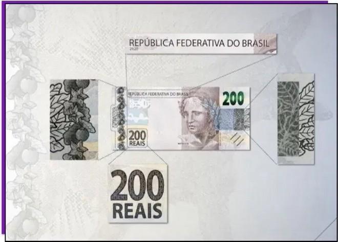 Nova cédula de R$ 200 é lançada; veja como identificar se uma nota é falsa 31