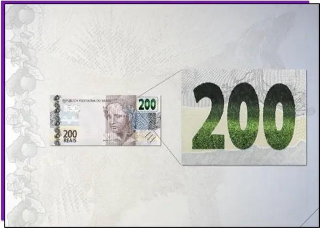 Nova cédula de R$ 200 é lançada; veja como identificar se uma nota é falsa 32