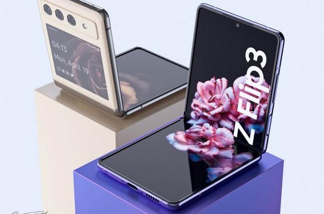 Baseado em patente, conceito imagina Galaxy Z Flip 3 com grande mudança em  design - TudoCelular.com