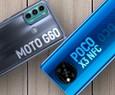 Moto G60 vs Poco X3 NFC: qual celular tem melhor conjunto com tela 120 Hz? | Comparativo