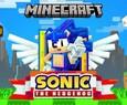 Sonic em Minecraft: ouriço ganha conteúdo especial para celebrar seus 30 anos