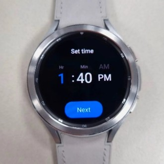Galaxy Watch 4 appears in new images after being caught on the wrist of a South Korean athlete