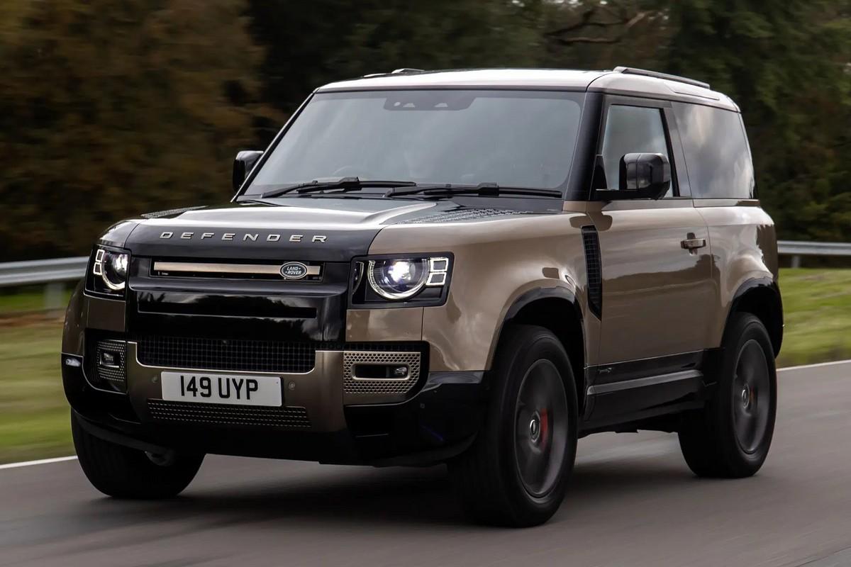 Muita potncia! Land Rover Defender 90 tem pr-venda anunciada no Brasil