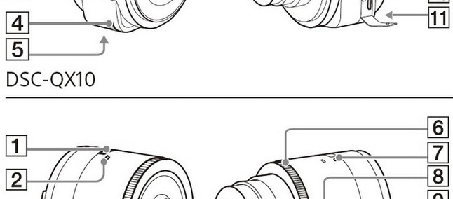 Vaza suposto manual de lente da Sony para smartphones